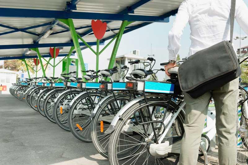 e-bike-leasing unternehmen